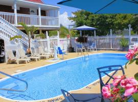 The Burgundy Inn & Homestead-Stonehaven Apartments, motel in Ocean City