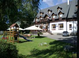 Penzión Encián, ubytovanie bed and breakfast v Tatranskej Lomnici