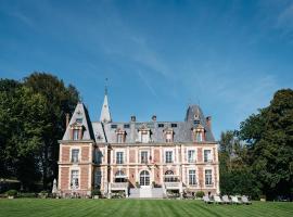 Chateau-Hotel De Belmesnil, hotel in Saint-Denis-le-Thiboult