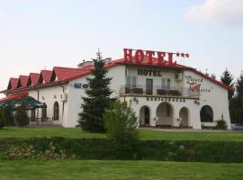 """Zajazd """"Marta"""" – hotel w pobliżu miejsca PKP Lublin w mieście Kraśnik"""
