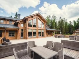Eco-hotel Izumrudniy les, hotel with jacuzzis in Nudol'