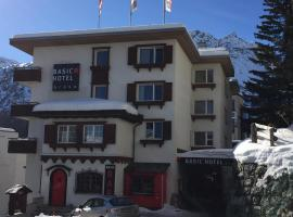 Basic Hotel Arosa, hotel in Arosa