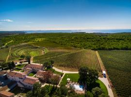 Meneghetti Wine Hotel and Winery - Relais & Chateaux, luxury hotel in Bale