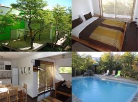Cabañas Ecobox Andino, hotel in Las Trancas