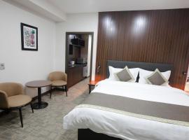 UB INN hotel & gallery, hotel en Ulán Bator