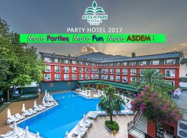 Asdem Park Otel, отель в Кеме