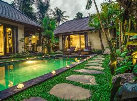 Buana Tirta Ubud Villa, cottage in Ubud