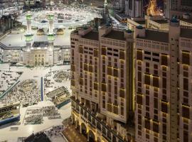Makkah Towers, viešbutis Mekoje, netoliese – Abraj Al-Bait bokštai