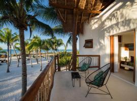 Villas HM Palapas del Mar, hôtel à Holbox