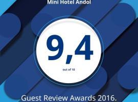 Mini Hotel Andol, hotel near Arkhangelskoye Estate, Nemchinovka