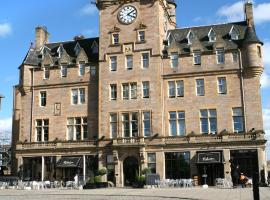 Malmaison Edinburgh, pet-friendly hotel in Edinburgh