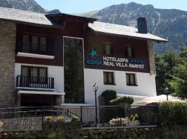 Hotel & Spa Real Villa Anayet, hotel cerca de Rey Juan Carlos, Estación de Canfranc