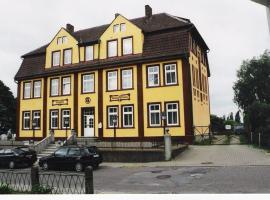 Hotel Gesellschaftshaus, Hotel in der Nähe von: Bahnhof Bergen auf Rügen, Bergen auf Rügen