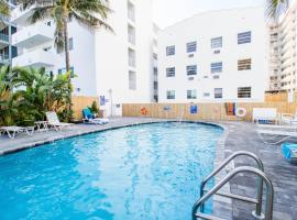 Ocean walk apartments, hotel in Miami Beach