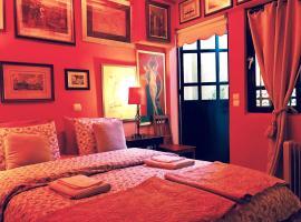 Gallery Basement in Villa Vravrona, hotel in Markopoulo