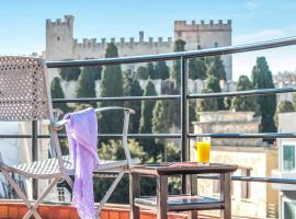 Danezis City Stars Apartments, family hotel in Rhodes Town