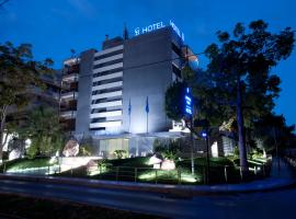 The Crystal Blue Hotel, hotel in Athens