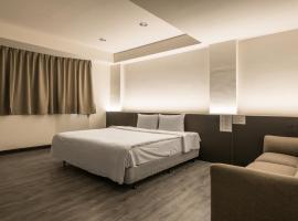 蓮園商務旅館,中壢區的飯店