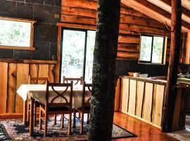 Cabaña Rustica Patagonia Chilena, hotel cerca de Villarrica Volcano, Coñaripe