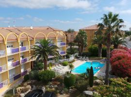 Albizzia, hotel near Saint-Thomas Golf Course, Valras-Plage