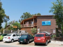 Cabañas Hostel Aquario Papudo, serviced apartment in Papudo