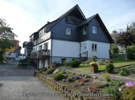 Pension Haus Linden, hotel near Steilhang Ski Lift, Winterberg