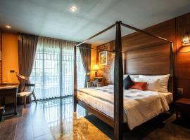 Hotel de l'amour, hotel in Prakhon Chai