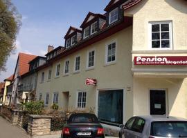 Pension Wegerich, hotel near Steigerwald Stadium, Erfurt