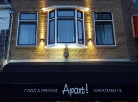 Apart! Food & Drinks Apartments, apartment in Zwolle