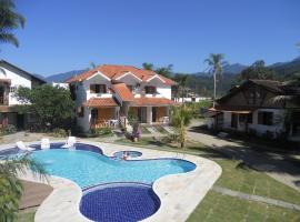 Recanto da Praia, hotel with jacuzzis in Paraty