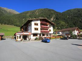 Alpenhof Pitztal, hotel in Sankt Leonhard im Pitztal