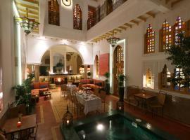Riad Andalla Spa, hotel romantico a Marrakech