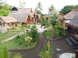 Kampung Meno Bungalows, three-star hotel in Gili Meno