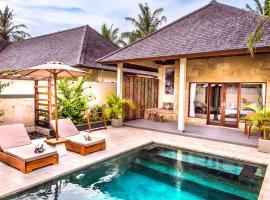 Utara Villas, luxury hotel in Gili Trawangan