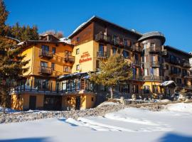 Hotel Belvedere, отель в Сестриере