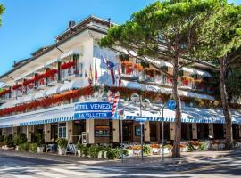 Hotel Venezia e la Villetta, отель в городе Лидо-ди-Езоло