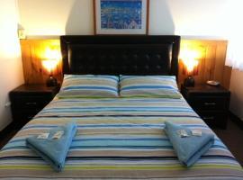 Aquarius Motel, accommodation in Belmont