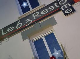 Le 6.3 Resto Home B&B, hotel in Port-en-Bessin-Huppain