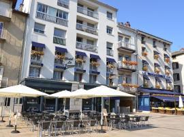 Hôtel Le Square, hotel near Aéroport d'Aurillac - AUR,