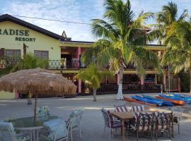Paradise Resort, hotel in Placencia