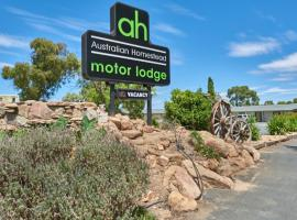 Australian Homestead Motor Lodge, motel in Wagga Wagga