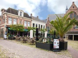 Hotel de Gulden Leeuw, hotel near Hindeloopen Station, Workum