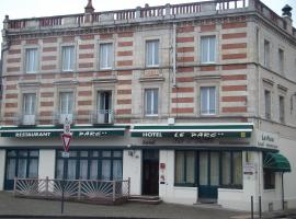 Hotel Restaurant Le Parc, hotel in Moulins