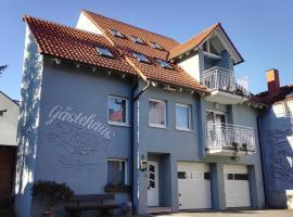 Wirtshaus & Hotel Zur Alten Brauerei Zapf, hotel near Botanic Garden Würzburg, Uettingen