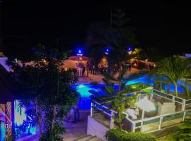 Daymond Blue Tropical Lodge, hotel en Santa Cruz de Barahona