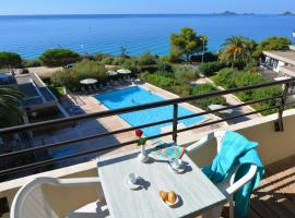 Résidence Les Calanques, serviced apartment in Ajaccio