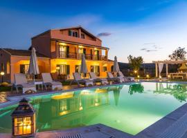Eleni Luxury Villa, pet-friendly hotel in Acharavi