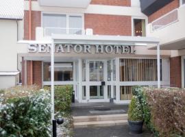 Hotel Senator, accessible hotel in Bielefeld
