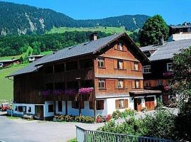 Haldenhof, hotel in Au im Bregenzerwald