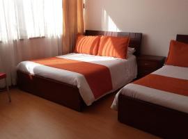 Hotel Pasajero Suites, Corferias, hotel near The Independence Park, Bogotá